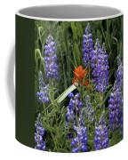 Lupine With Paintbrush Coffee Mug