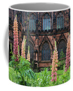 Lupines At Chester Cathedral 6805 Coffee Mug