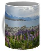 Lupins By The Lake Coffee Mug