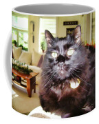 Lura Leigh Kitty Coffee Mug