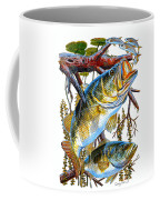Lurking Bass Coffee Mug by Carey Chen