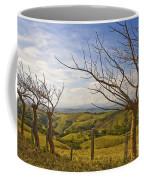 Lush Land Leafless Trees 2 Coffee Mug