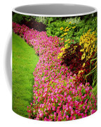 Lush Summer Garden Coffee Mug by Elena Elisseeva