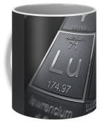 Lutetium Chemical Element Coffee Mug