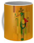 Lutgarde's Bird - 061109106-wyel Coffee Mug by Variance Collections