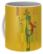 Lutgarde's Bird - 061109106y Coffee Mug by Variance Collections