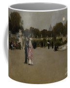 Luxembourg Gardens At Twilight Coffee Mug by John Singer Sargent