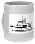 Luxury Motoryacht Coffee Mug by Jack Pumphrey