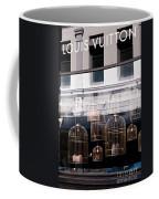 Lv Gilded Cage Bags Coffee Mug