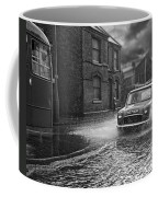 Lye Rain Storm, Morris Mini Car - 1960's    Ref-246 Coffee Mug