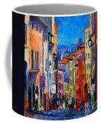 Lyon Colorful Cityscape Coffee Mug
