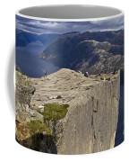 Lysefjord With Prekestolen Coffee Mug