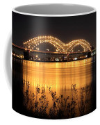 The Hernando De Soto Bridge M Bridge Or Dolly Parton Bridge Memphis Tn  Coffee Mug