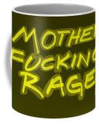M F R Yellow Coffee Mug