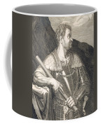 M Silvius Otho Emperor Of Rome Coffee Mug by Titian