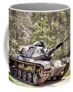 M60 Patton Tank Coffee Mug by Olivier Le Queinec