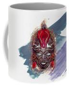 Maasai Mask - The Rain God Ngai Coffee Mug