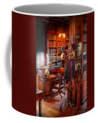 Macabre - In The Headhunters Study Coffee Mug by Mike Savad