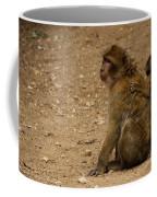 Macaque Monkeys Coffee Mug
