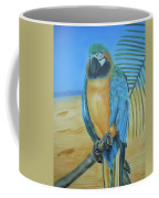 Macaw On A Limb Coffee Mug