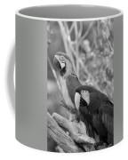 Macaws Of Color B W 14 Coffee Mug