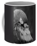 Macaws Of Color B W 17 Coffee Mug