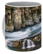 Macdonald Creek Falls Glacier National Park Coffee Mug