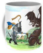 Macduff And The Dragon Coffee Mug by Margaryta Yermolayeva