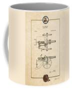 Machine Gun - Automatic Cannon By C.e. Barnes - Vintage Patent Document Coffee Mug