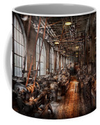 Machinist - A Fully Functioning Machine Shop  Coffee Mug