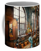Machinist - Back In The Days Of Yesterday Coffee Mug by Mike Savad