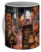 Machinist - Ed's Stock Room Coffee Mug by Mike Savad