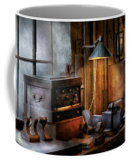 Machinist - My Workstation Coffee Mug by Mike Savad