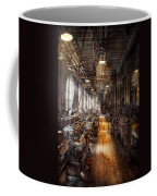 Machinist - Welcome To The Workshop Coffee Mug by Mike Savad