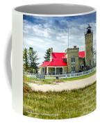 Mackinac Point Lighthouse Michigan Coffee Mug