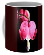 Macro Bleeding Heart Coffee Mug