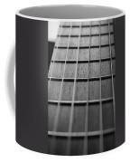 Macro Guitar Strings Coffee Mug