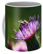 Macro Micro Bee Coffee Mug