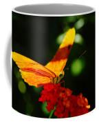 Macro Of An Orange Butterfly Coffee Mug