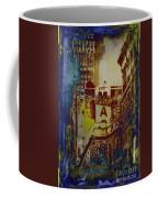 Macys Three - Neo-grundge - Famous Buildings And Landmarks Of New York City Coffee Mug