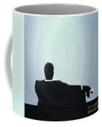 Mad Men In Silhouette #2 Coffee Mug