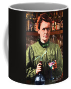 Madame Marie Curie Shaking Up A Killer Martini At The Swank Hipster Club 88 20140625 Coffee Mug