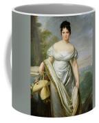 Madame Tallien 1773-1835 Oil On Canvas Coffee Mug