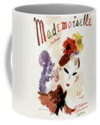 Mademoiselle Cover Featuring A Woman Coffee Mug