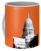 Madison Capital Building - Coral Coffee Mug