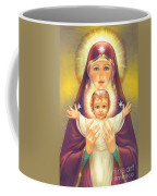 Madonna And Baby Jesus Coffee Mug by Zorina Baldescu