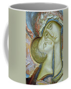Madonna And Child Coffee Mug by Alek Rapoport