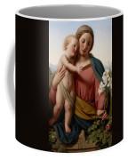 Madonna And Child Coffee Mug by Franz Ittenbach