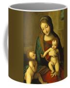 Madonna And Child With The Infant Saint John Coffee Mug
