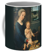 Madonna And Child With The Milk Soup Coffee Mug